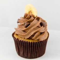 Magdalenas de Plátano y Chocolate